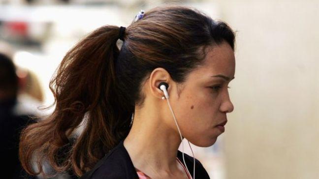 headphones walking 2